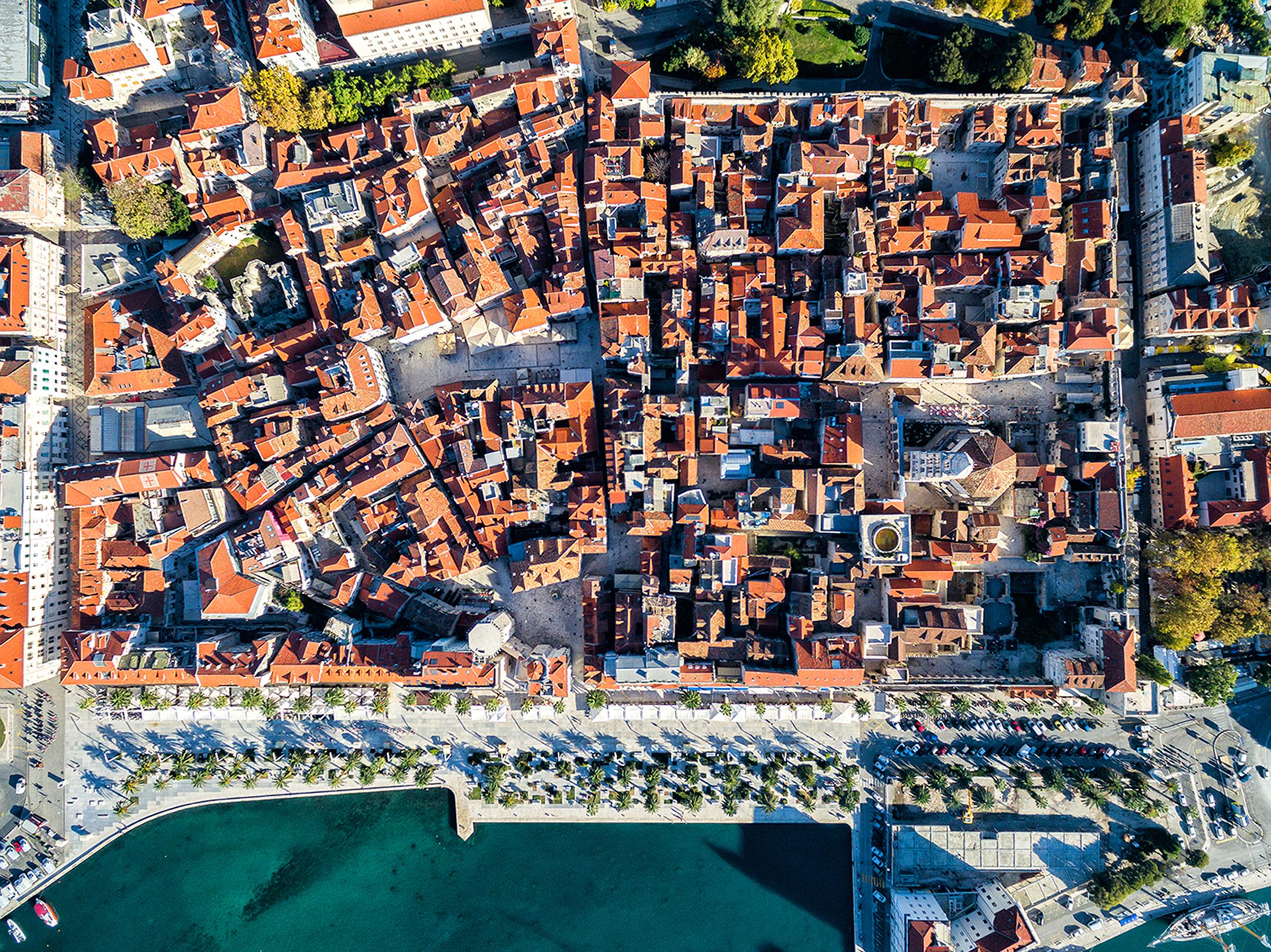 Utforsk Split i Kroatia med leiebil